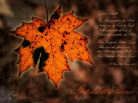 Das Blatt - The Leaf