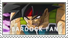 Bardock Fan Stamp by Rage-Warrior