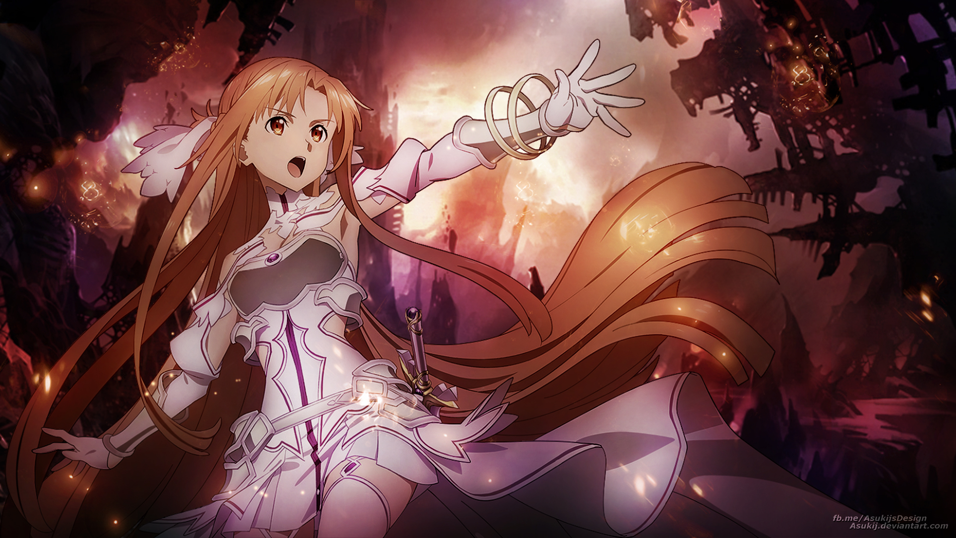 Wallpaper Stacia Asuna By Asukij On Deviantart