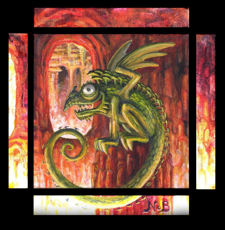 Norwegian dragonrat by N-o-B