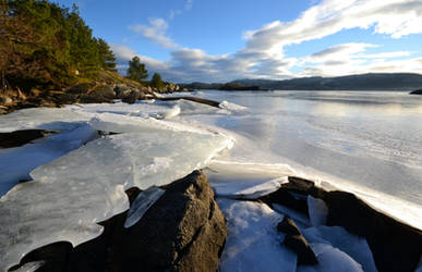 Grindefjorden winter