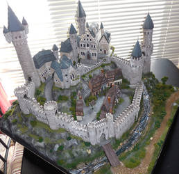 Foam Castle Diorama 2014 by ElizabethB217