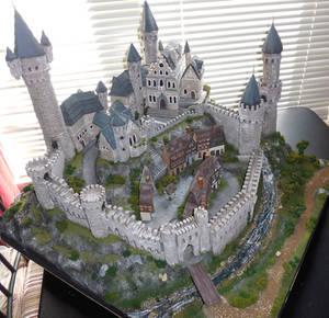 Foam Castle Diorama 2014