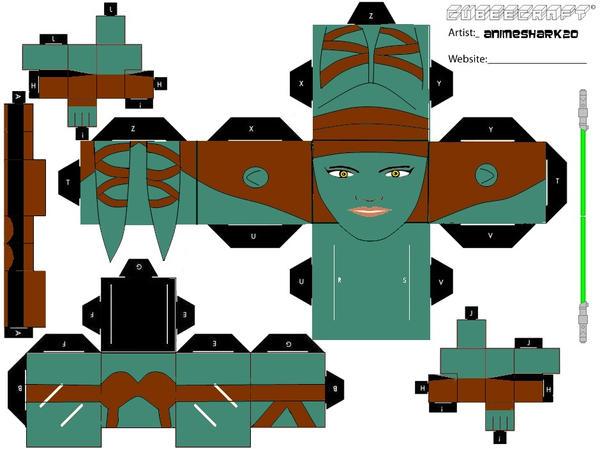 Cubee - Aayla Secura by AnimeShark20