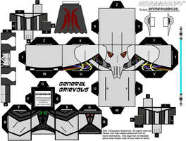 Cubee - General Grievous by AnimeShark20