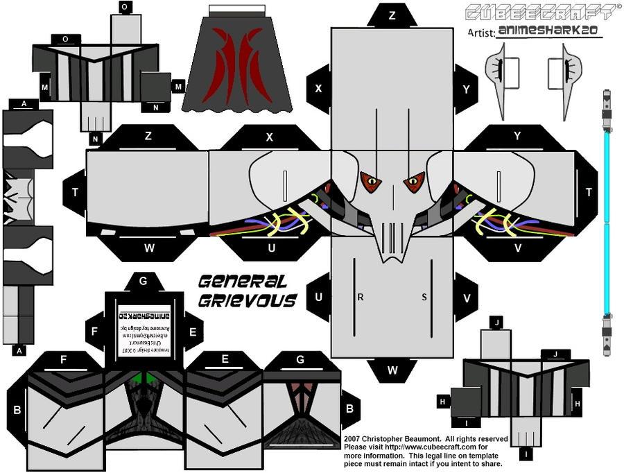 cubee general grievous by animeshark20 on deviantart. Black Bedroom Furniture Sets. Home Design Ideas