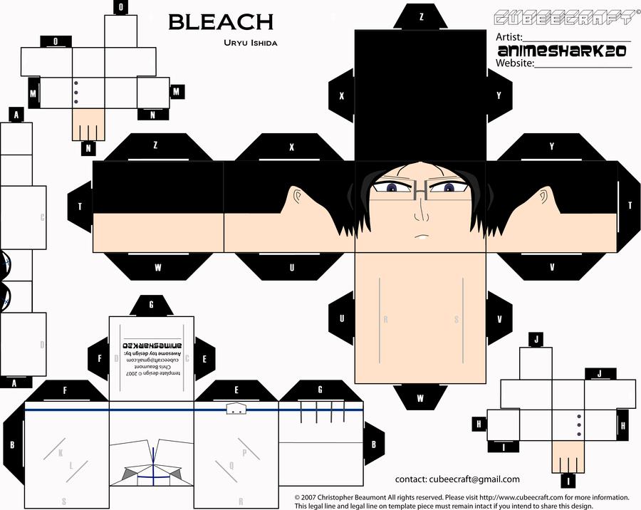 Cubee - Uryu Ishida - Bleach by AnimeShark20