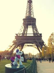Ponies in Paris by PinkiePirates