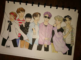 BTS Fanart [Original Version]