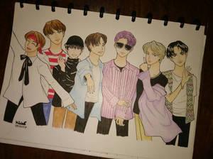 BTS Fanart [Original Version]