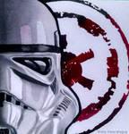 Stormtrooper watercolor