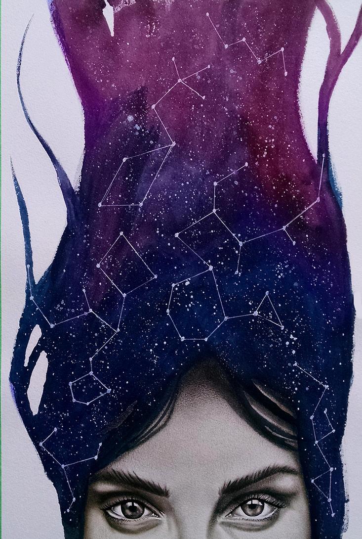 Abstract Female 1 by allstarrunner