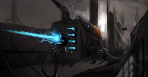Concept. Ship by GatoDelCielo