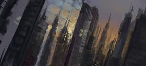 City by GatoDelCielo