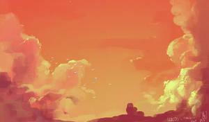 Clouds VD1 by GatoDelCielo