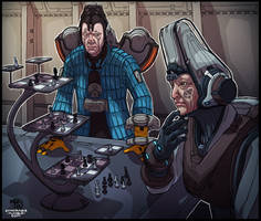 Alad V and Perrin rep play chess