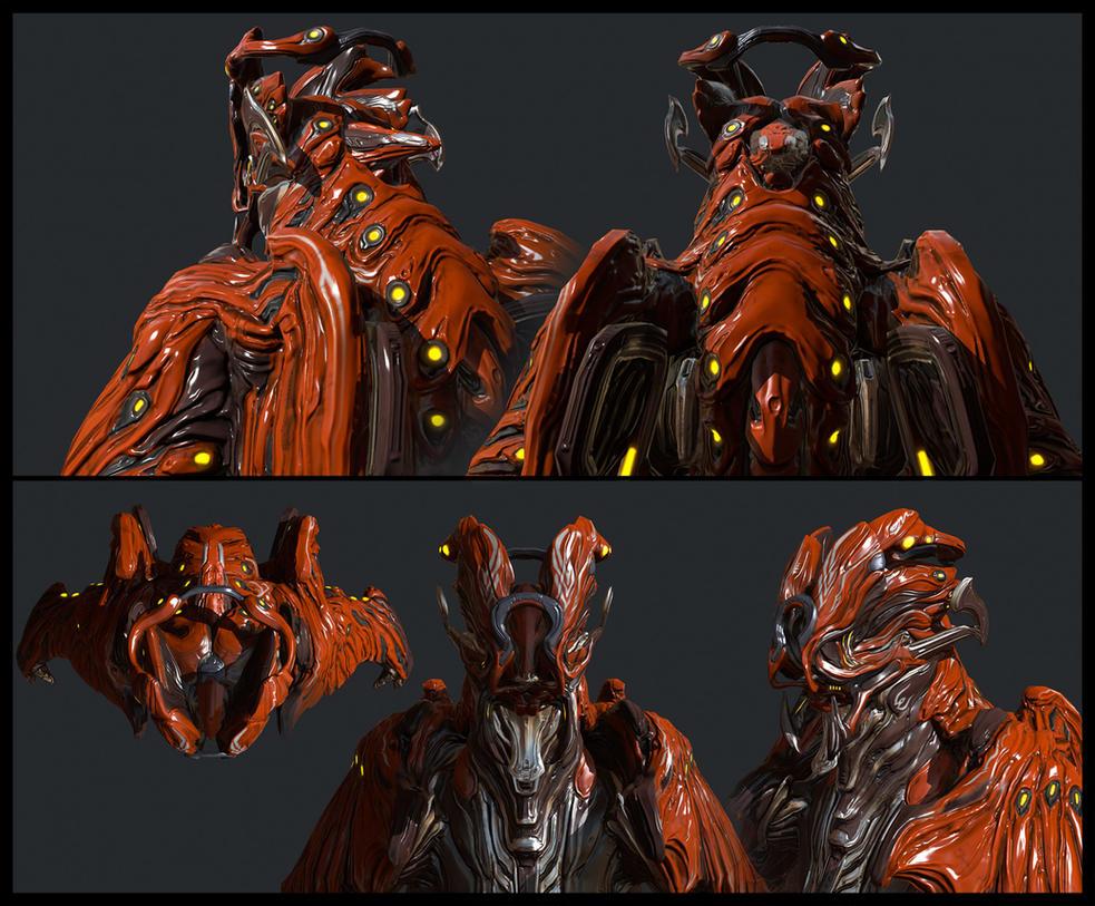 Kaiju - Chroma helmet by Syncrasis