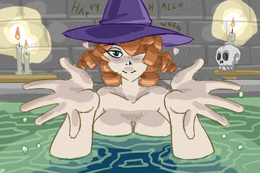 Witch Cauldron Bath Contest Entry by loggey