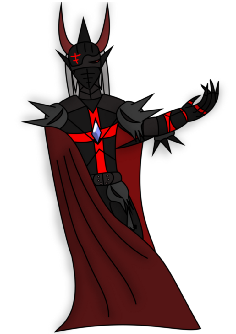 Mysterious armored man by DarkXeo