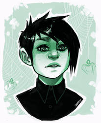 Green baby by goatsy
