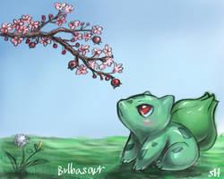 Bulbasaur by HawkRose00