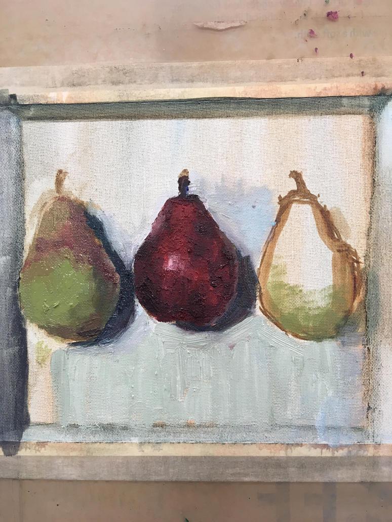 Pears by HawkRose00