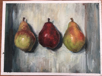 Pears (finished) by HawkRose00