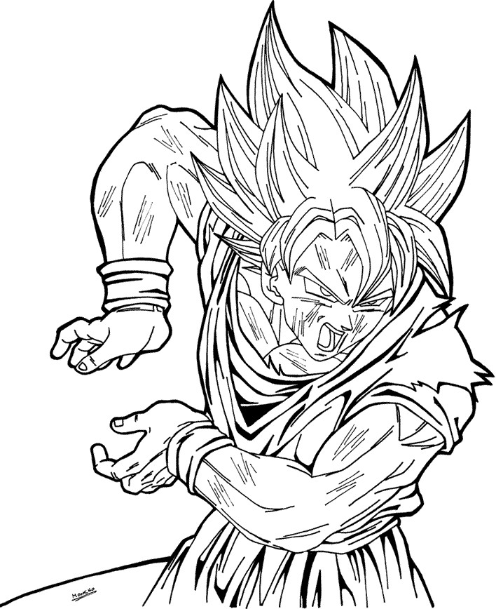 super saiyan vegeta drawing. UR6 Super Saiyan Goku LV 4.