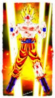 goku super saiyajin 02 by moncho-m89