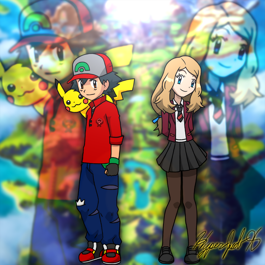 Ash And Serena Sword And Shield Styled Outfits By Hyperjacob96 On