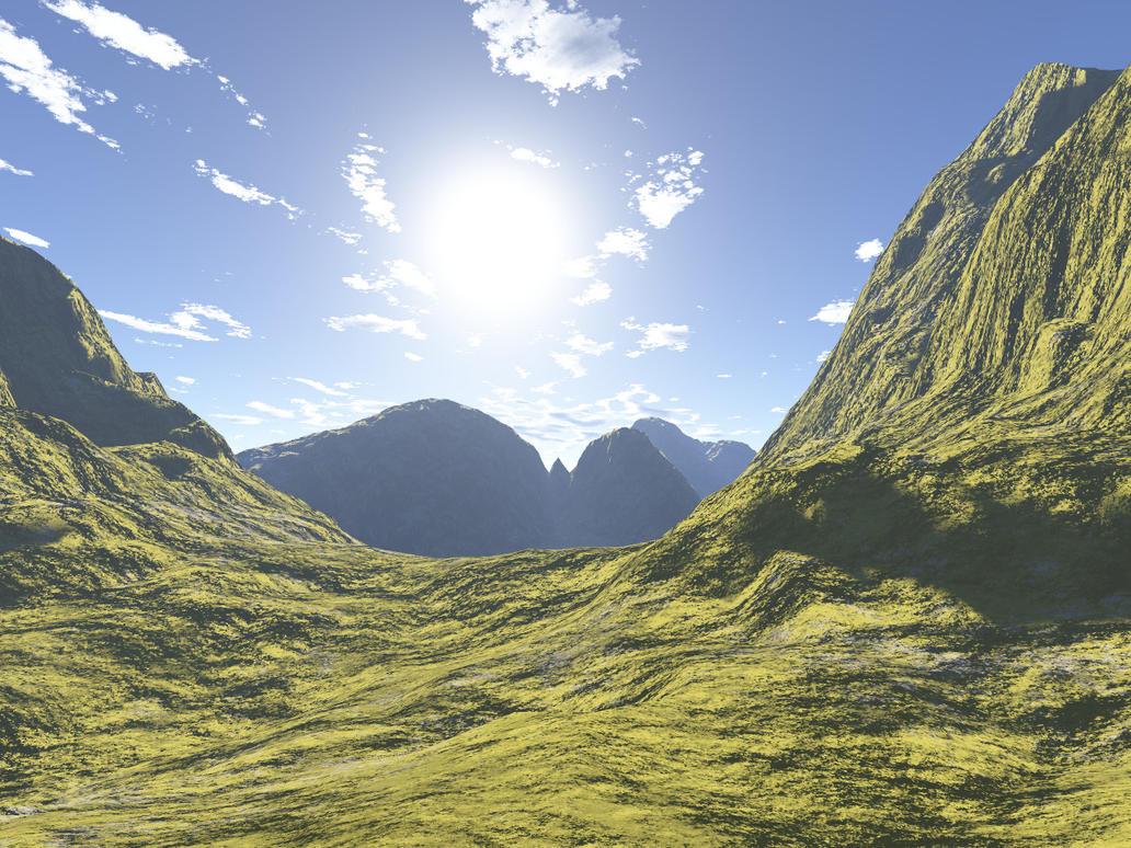 Sunny landscape by luceluce83 on deviantart for Sunny landscape designs
