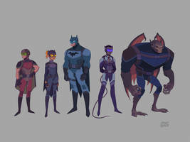 Batman Animated Series Concept by ShaunPendergast