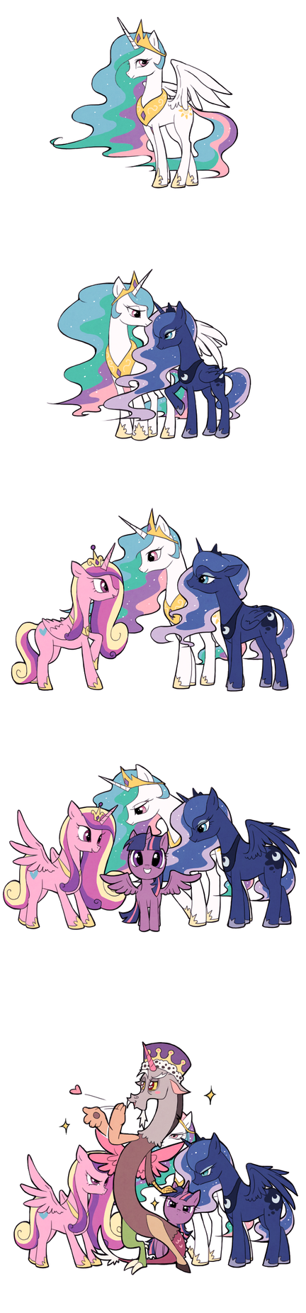 Alicorn Princess by Ssalbug