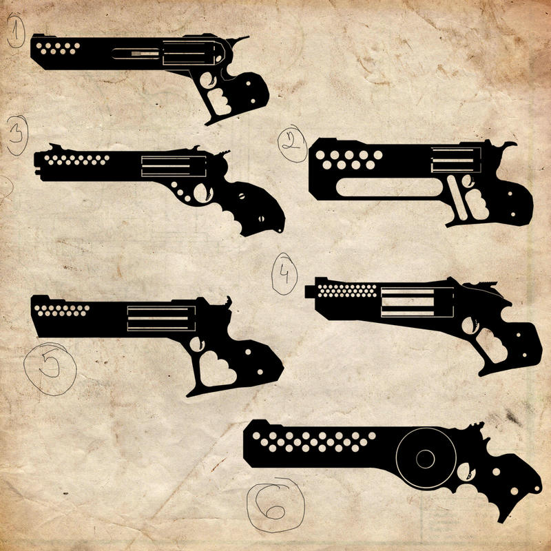 Weapons thumbnails 01 by pansejra