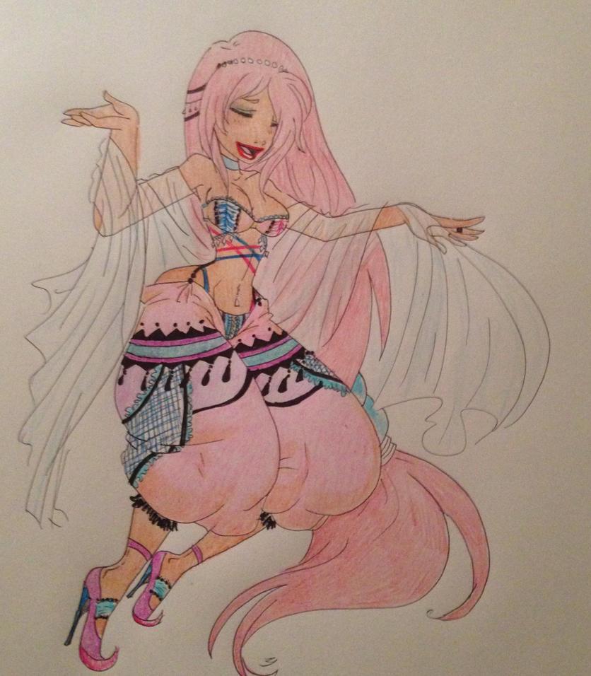 Beautiful dancer 2 by ZeldaHatter