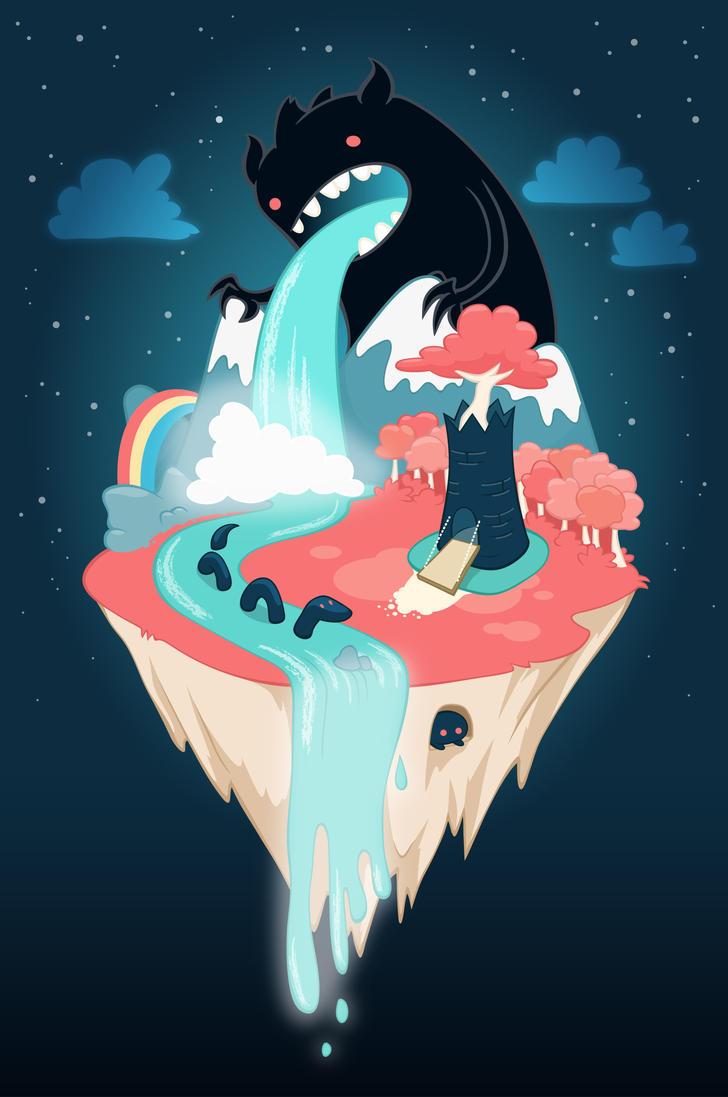 Monster Island by skansen