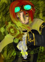 Steampunk Alchemy-speedpaint-