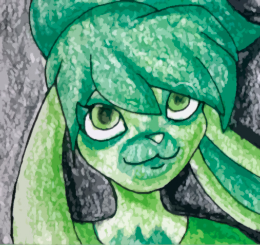 Kerisu in Green by kerisugi
