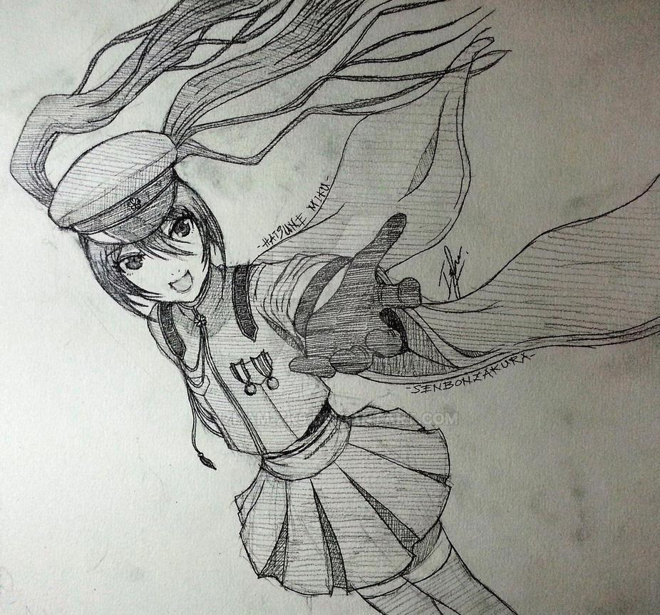 Hatsune Miku - Senbonzakura by Izham-ZK9