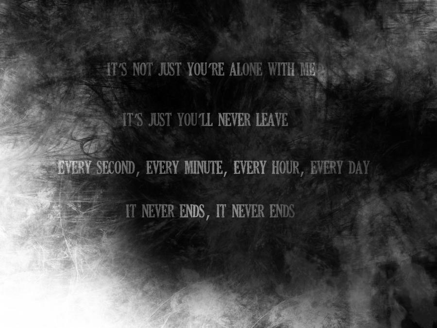 it never ends lyrics