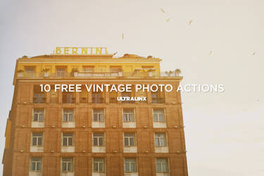 10 Amazing Free Vintage Photography Actions
