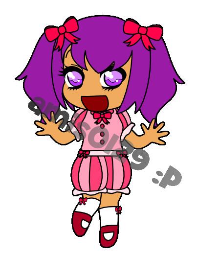 Happy Chibi Girl by amis0129 on deviantART