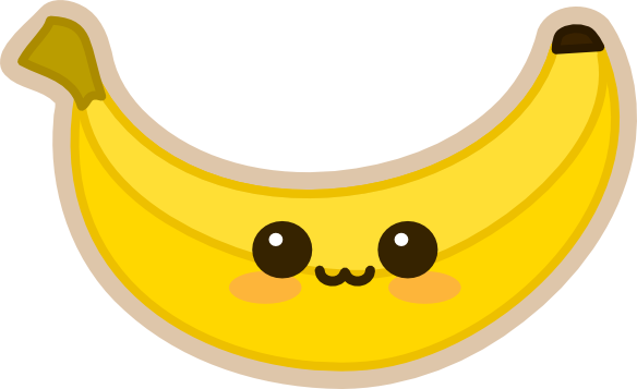 bananabluff's Kawaii Banana by amis0129 on DeviantArt