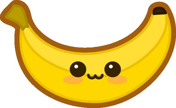 bananabluff's Kawaii Banana by amis0129 on DeviantArt Mickey Mouse Love Drawings