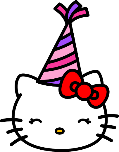 happy birthday hello kitty by amis0129 on deviantart rh amis0129 deviantart com hello kitty clipart free birthday