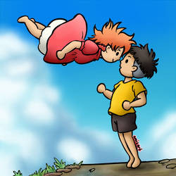 Ponyo x Sosuke