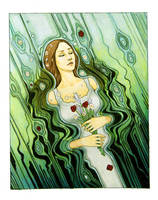 Ophelia by Afilimona