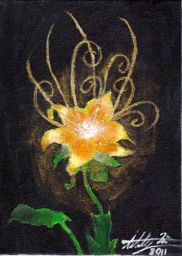 Flower Gleam and Glow... by splattermusic