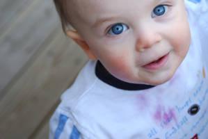 Child portraits - blue eyes by Kaeldra-1