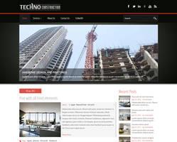 TechnoConstruction Free WordPress Theme